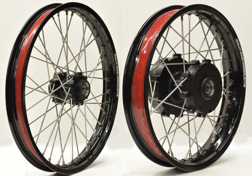 "Heavy Duty 21""/18"" Rally Wheel Set  - CRF1000/CRF1100"