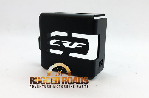 Rear Brake Reservoir Guard - Black - CRF1000 & CRF1000 Adventure Sport (2018>)