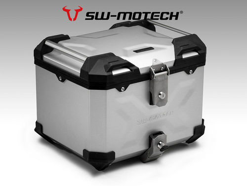 SW Motech TRAX Adventure Top Case System - SILVER for Honda CRF1000 Adventure Sport (2018>)