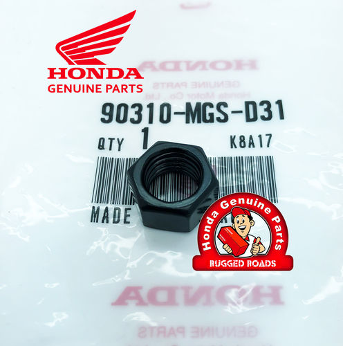 OEM Honda 10mm Mirror Hex Nut Left Hand Thread - CRF1000 (2016>)