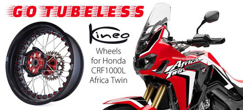 Kineo Front and Rear Tubeless Wheel Set - CRF1000 and CRF1000 Adventure Sport (2016>)