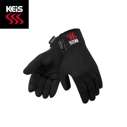 Keis G102 Heated Inner Gloves (Dual Power)