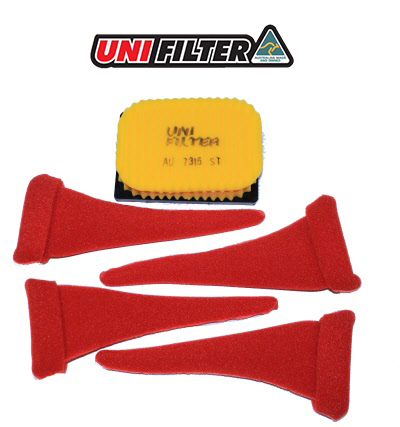 UNIFilter Air Filter Kit - BMW R1200GS WC / R1250GS  (2013 on)