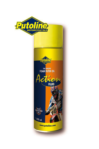 Plutoline - Action Fluid - Foam Filter Oil 600ml