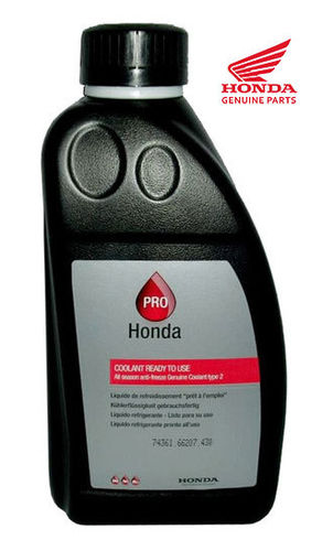 OEM Honda Type 2 Pro Coolant - 1Ltr Pre-mixed