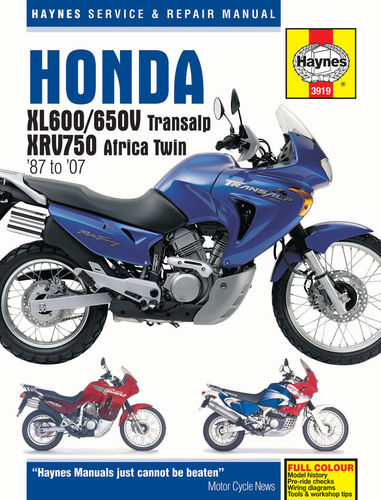 Haynes Workshop Manual - XRV750 Africa Twin, XL600/650V Transalp