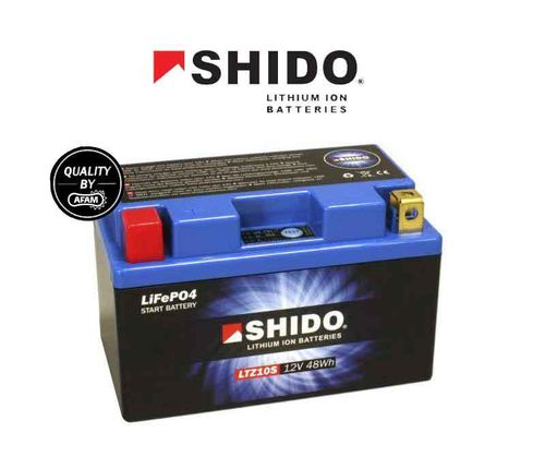 Shido Lithium Battery with LED indicator - Yamaha Tenere 700 (2019>)