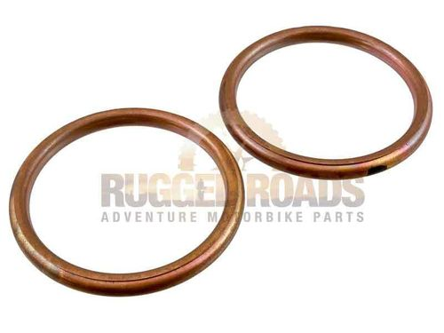 Exhaust Header Copper Gaskets - Yamaha Tenere 700 (2019>)