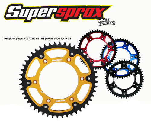 SuperSprox Stealth 46 Teeth Rear Sprocket - Tenere 700