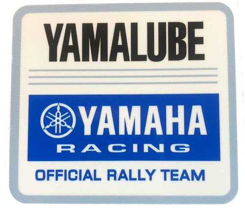 Yamalube Rally Team Decal - Blue