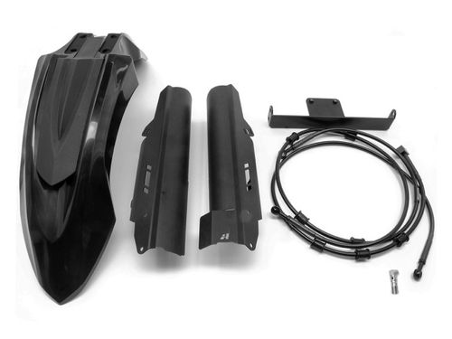 AltRider High Fender Kit CRF1000 Adventure Sport Black (2018-19)