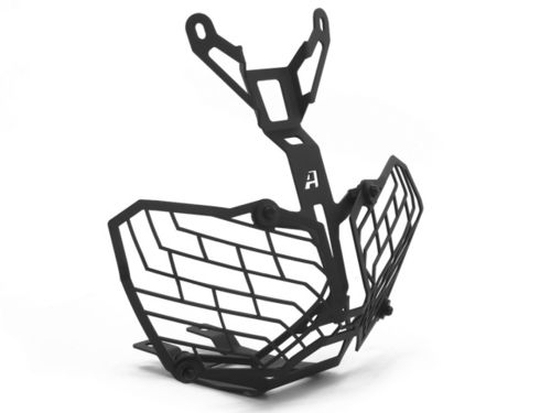 AltRider Stainless Steel Mesh Headlight Guard CRF1000L Black