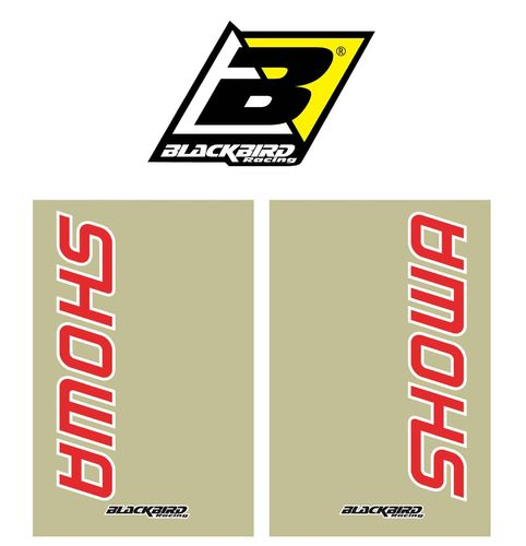 Blackbird Racing - Showa Fork Decals