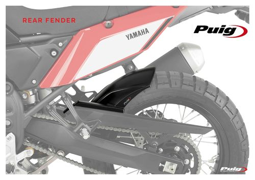 Rear Fender - Matt Black - Tenere 700