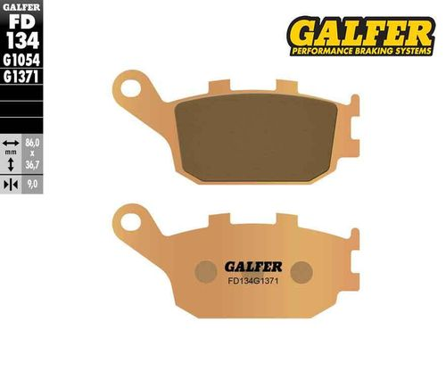 Galfer Sintered Rear Brake Pads - CRF1000/CRF1100 (all models)