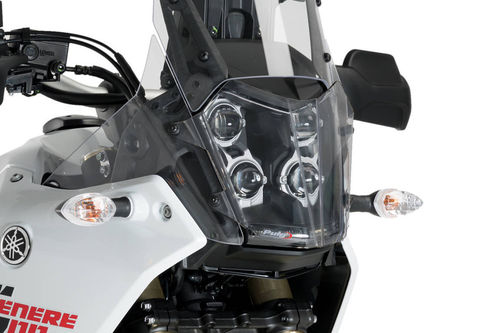 Puig Headlight Guard CLEAR - Tenere 700