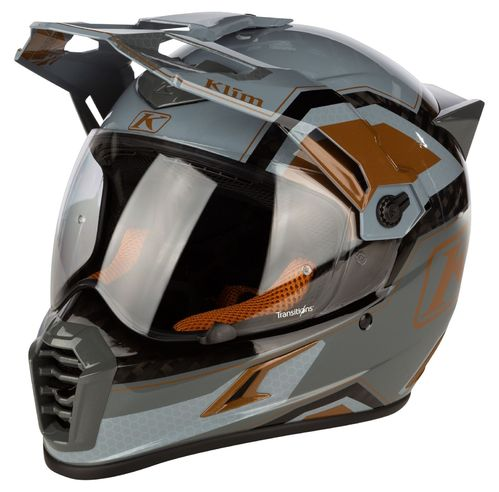 KLIM Krios PRO Helmet ECE/DOT - RALLY METALLIC BRONZE