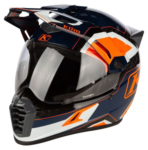 KLIM Krios PRO Helmet ECE/DOT - RALLY STRIKING ORANGE