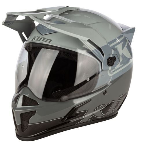 KLIM Krios Helmet ECE/DOT - COVERT COOL GRAY